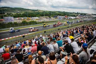 Druhý závodní týden ETRC 2019 proběhl na maďarském Hungaroringu.