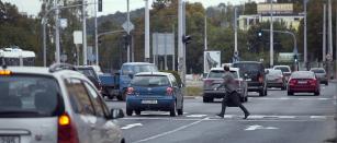 """Mezi nejohroženější """"druhy"""" v městském provozu patří chodci, cyklisti a motocxyklisti."""