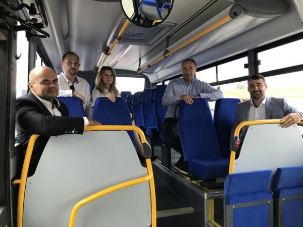 Autobusy pro společnost Arriva Morava.
