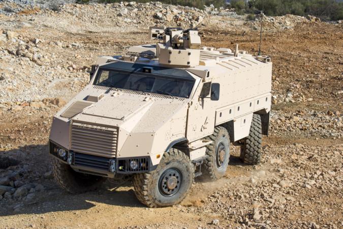 Obrněné vozidlo Nexter Titus vzniklo v Tatře a Nextru jako zákaznický projekt.