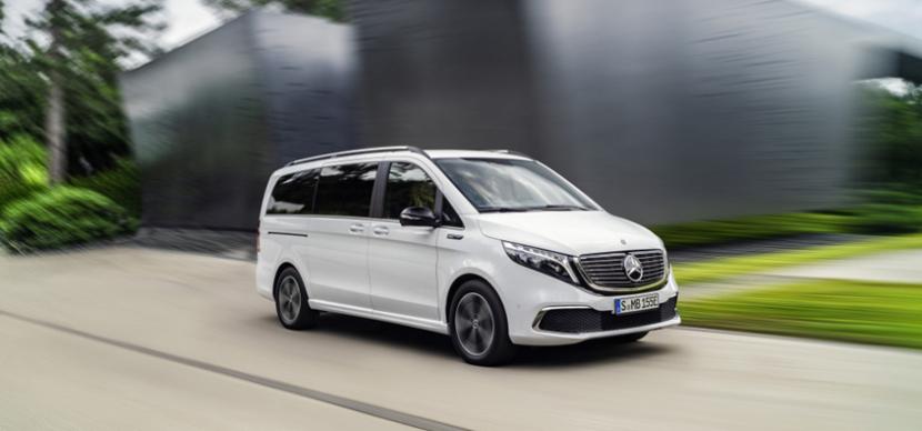 Sériové provedení plně elektrického MPV modelové řady EQV bude ve světové premiéře představeno na podzimním autosalonu IAA ve Frankfurtu.