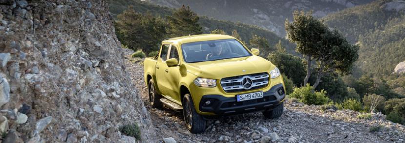 Prémiový pick-up Mercedes-Benz Třída X to má spočítané, s jeho nástupcem se již nepočítá.