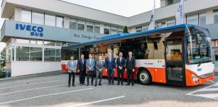 Autobusy modelové řady Crossway pokořily hranici 40 000 vyrobených kusů.
