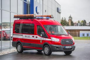 Ford Transit v úpravě pro hasiče předvedly karosárny Techsport a Hagemann