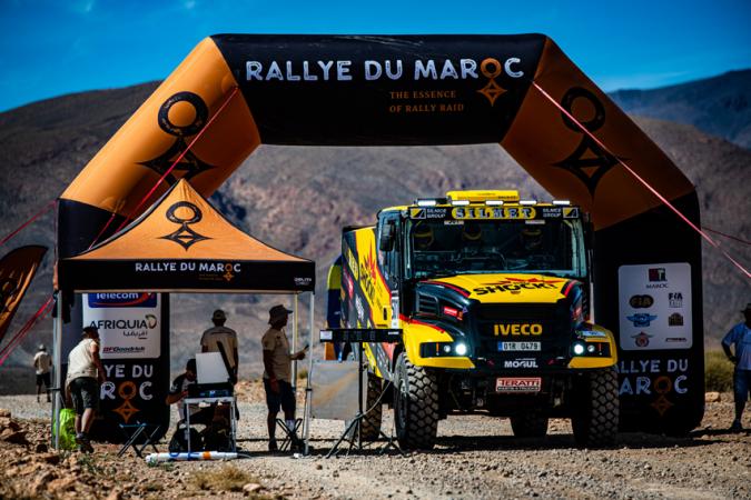 Rallye du Maroc 2019 - Martin Macík s vozem Karel