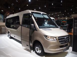 Světová premiéra- minibus Mercedes-Benz Sprinter Travel 75