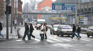 Chodci jsou v dopravním provozu ohrožený druh.