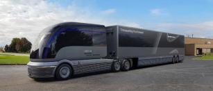 Vodíkový silniční tahač Hyundai Neptune.
