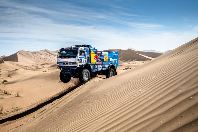 KAMAZ MASTER na Rallye Dakar 2020.