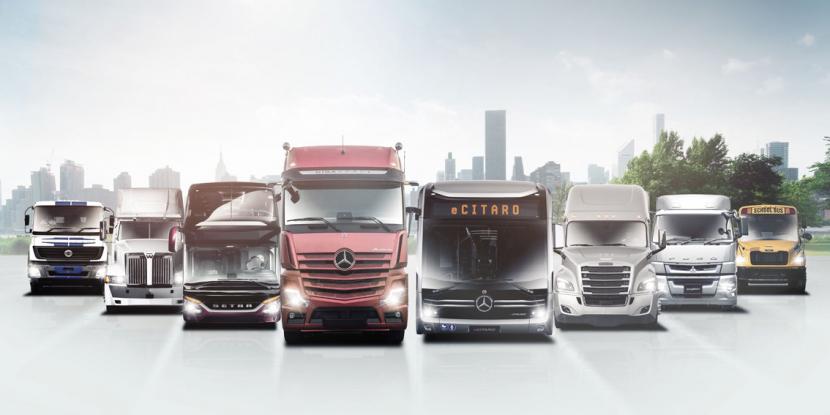 Nová podniková struktura koncernu Daimler AG.