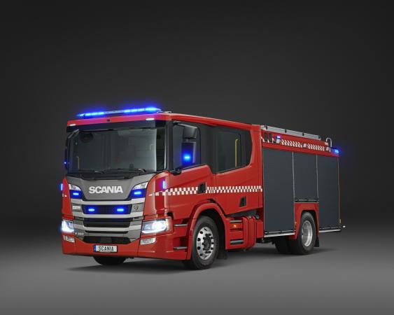 Posádkové kabiny Scania.