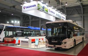 Scania na veletrhu Czechbus 2019.