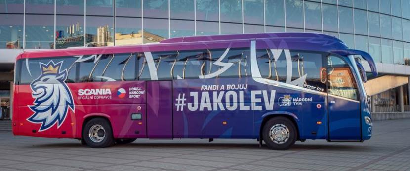 Scania pro české hokejisty.