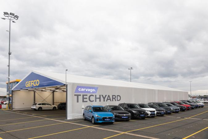 Testovací centrum ojetých automobilů TechYard.