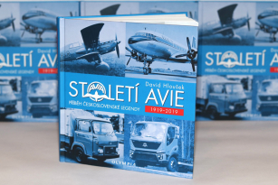 Nová kniha o pražšké firmě Avia.