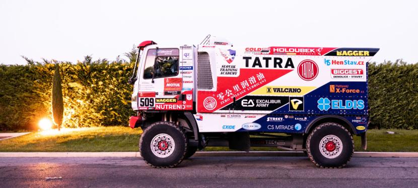 Buggyra na Rallye Dakar 2020.