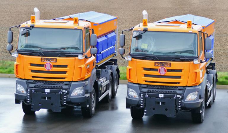 Tatra Phoenix Euro 6 pro komunál.