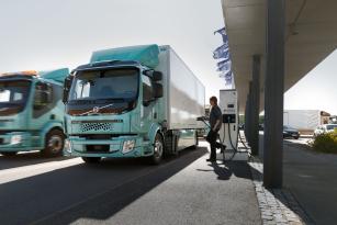Elektro Volvo Trucks k dispozici.