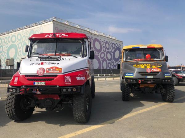 Vrátného Tatry na Rallye Dakar 2020.