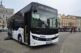 Autobus Novo City Life určený pro regionální přepravu  dopravce OAD Kolín