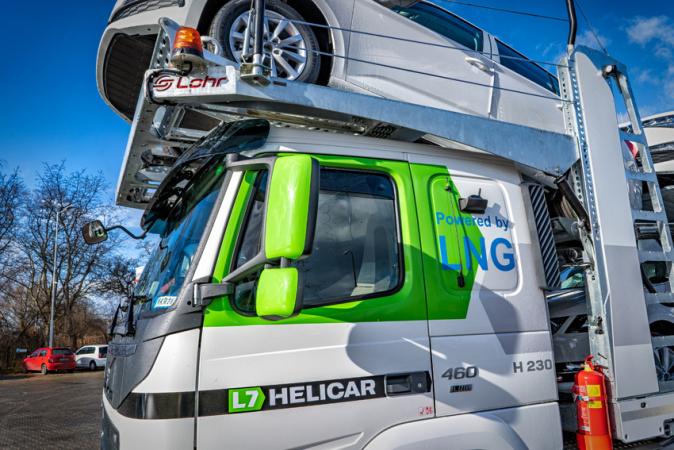 První Volvo FM LNG registrované v ČR.