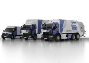 Renault Trucks spouští sériovou výrobu elektronáklaďáků.