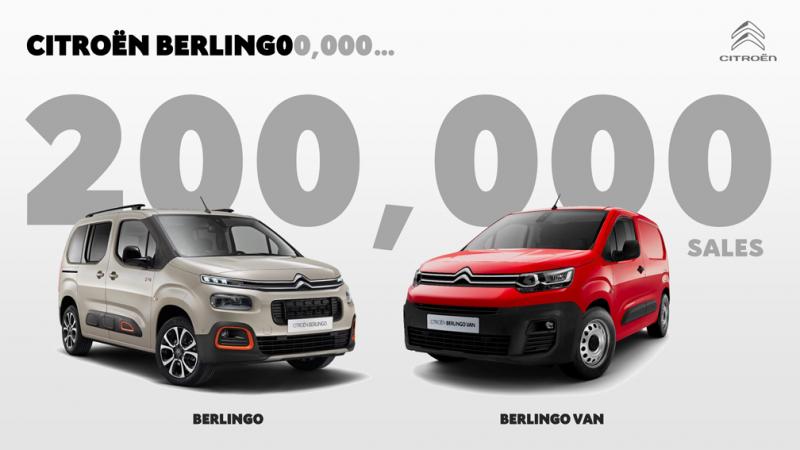 Berlingo je nejprodávanějším modelem značky celosvětově.