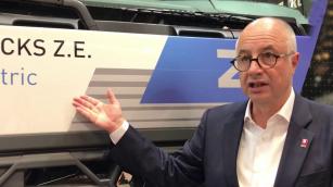 Bruno Blin, CEO společnosti renault Trucks může být s uplynulým rokem docela spokojen.