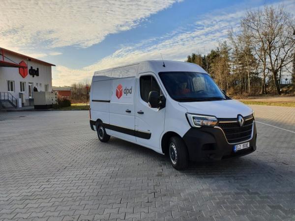 Renault Master Z.E. pro společnost DPD