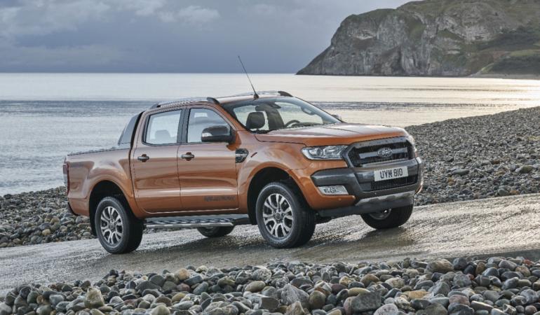Ford Ranger Wildtrak ve své současné podobě.