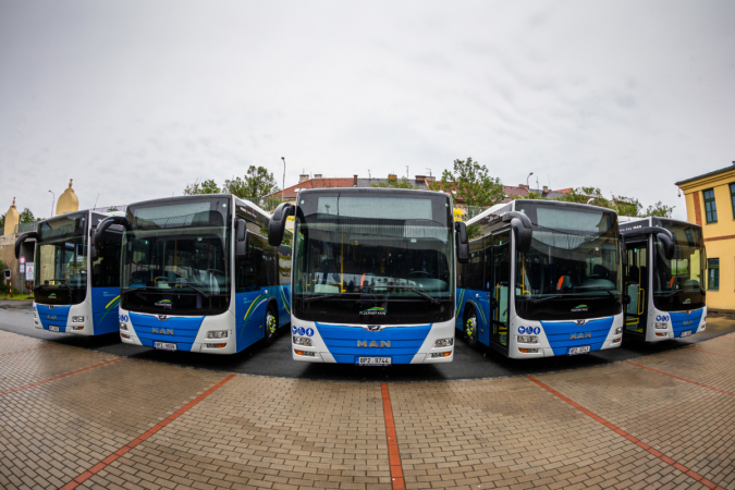 Nové autobusy MAN Lion's City LE pro Plzeňský kraj.