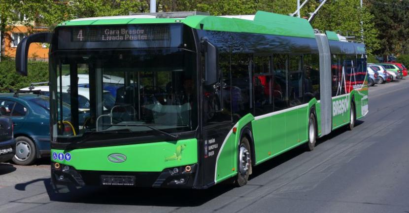 Nový trolejbus pro rumunský Brašov.