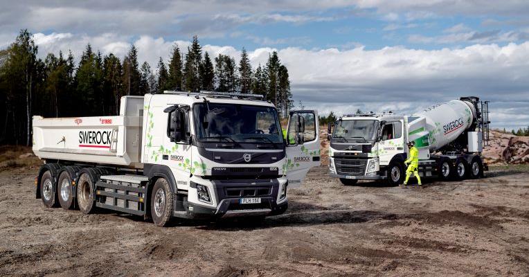 Elektrická nákladní vozidla Volvo FM a FMX