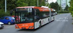 Trolejbus Škoda Electric pro norské město Bergen.