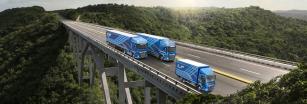 """Společnost DAF Trucks získala ocenění """"Irish Fleet Truck Brand of the Year 2021"""", udělované irským časopisem Fleet Transport Magazine."""