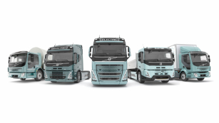 Elektrická nákladní vozidla Volvo Trucks.