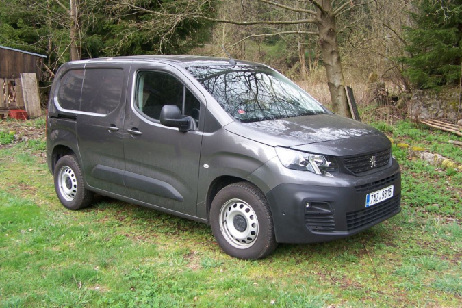Peugeot Partner Van v krátké verzi L1