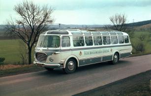 Autobus RTO LUX pro světovou výstavu Expo 58 v Bruselu