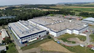 Výrobní závod v Otrokovicích, který zahájil provoz v roce 2013
