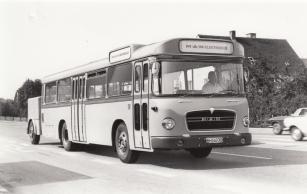První elektrický autobus MAN 750 HO-M10 E pro pravidelný linkový provoz byl představen v roce 1970.