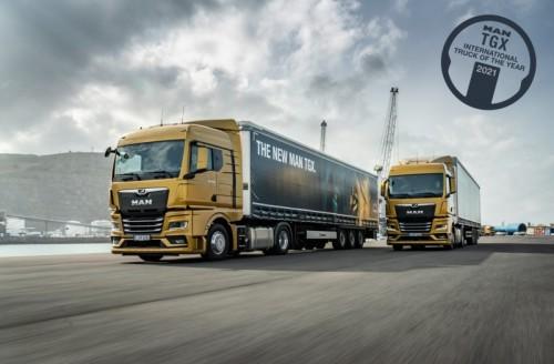 Nový MAN TGX je International Truck of the Year 2021!
