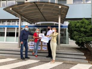 Iveco Czech Republic rozdělila stovky tisíc korun organizacím zasaženým covid-19