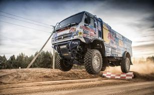 KAMAZ-master a Goodyear chtějí bojovat o vítězství v Rallye DAKAR.