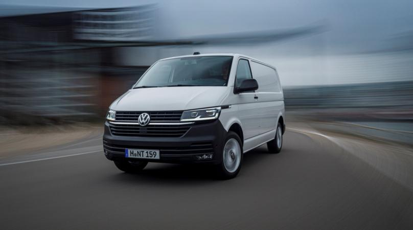 Volkswagen T6.1 získal ocenění za bezpečnost.