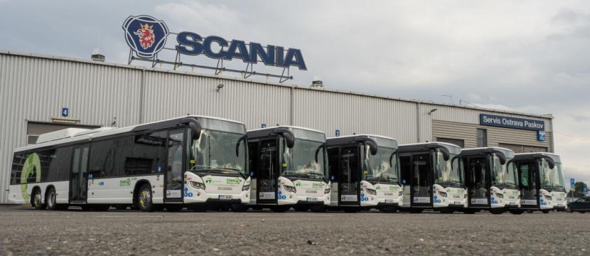Nové autobusy Scania Citywide na CNG pro ČSAD Havířov.