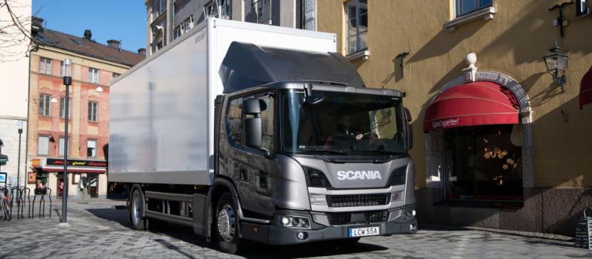 Nové elektronické aktivní řízení (Electric Active Steering, EAS) od společnosti Scania