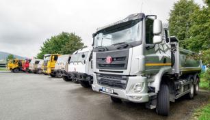 Vozidla z produkce společnosti Tatra Trucks