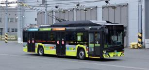 Trolejbus pro francouzské město St. Etienne