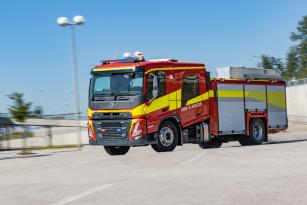 Volvo představuje nové modely FM a FMX s kabinou pro posádku.