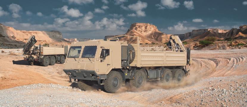 Tatra Force 8x8 pro přepravu nákladů